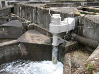 鏡野町タービン水車