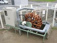 滋賀県工場内小水力発電施設