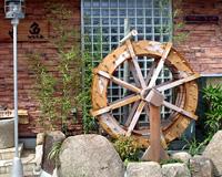 木製水車 写真1